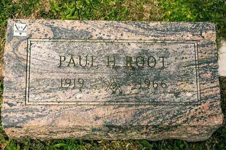 ROOT, PAUL H - Richland County, Ohio | PAUL H ROOT - Ohio Gravestone Photos