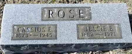 ROSE, CASSIUS E - Richland County, Ohio | CASSIUS E ROSE - Ohio Gravestone Photos