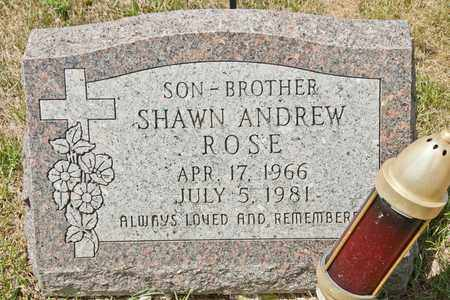 ROSE, SHAWN ANDREW - Richland County, Ohio   SHAWN ANDREW ROSE - Ohio Gravestone Photos