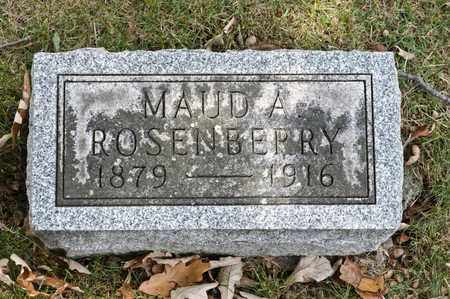 ROSENBERRY, MAUD A - Richland County, Ohio | MAUD A ROSENBERRY - Ohio Gravestone Photos