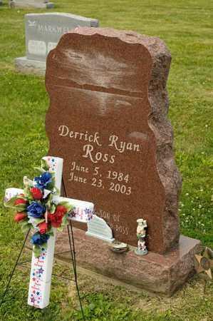 ROSS, DERRICK RYAN - Richland County, Ohio | DERRICK RYAN ROSS - Ohio Gravestone Photos