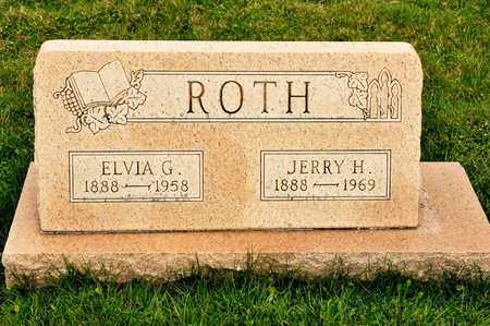 ROTH, JERRY H - Richland County, Ohio | JERRY H ROTH - Ohio Gravestone Photos