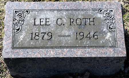 ROTH, LEE C - Richland County, Ohio | LEE C ROTH - Ohio Gravestone Photos