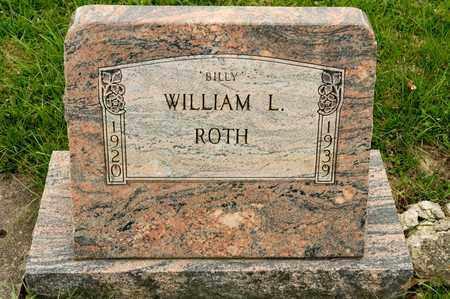ROTH, WILLIAM L - Richland County, Ohio   WILLIAM L ROTH - Ohio Gravestone Photos