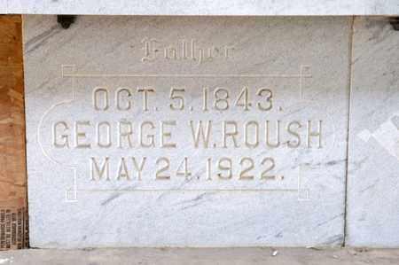 ROUSH, GEORGE W - Richland County, Ohio | GEORGE W ROUSH - Ohio Gravestone Photos