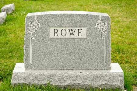 ROWE, NORA B - Richland County, Ohio | NORA B ROWE - Ohio Gravestone Photos