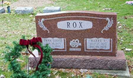ROX, EMMA LOUISE - Richland County, Ohio | EMMA LOUISE ROX - Ohio Gravestone Photos