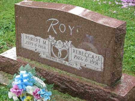 ROY, ROBERT M. - Richland County, Ohio | ROBERT M. ROY - Ohio Gravestone Photos