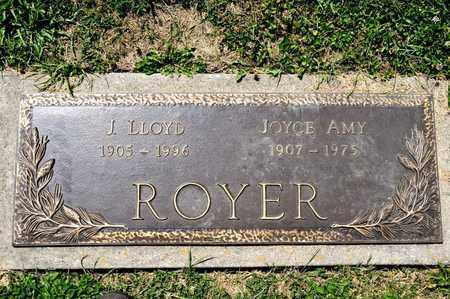 ROYER, J LLOYD - Richland County, Ohio | J LLOYD ROYER - Ohio Gravestone Photos