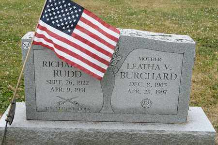 RUDD, RICHARD E - Richland County, Ohio | RICHARD E RUDD - Ohio Gravestone Photos