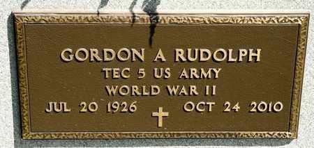 RUDOLPH, GORDON A - Richland County, Ohio | GORDON A RUDOLPH - Ohio Gravestone Photos