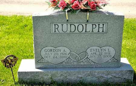RUDOLPH, EVELYN L - Richland County, Ohio | EVELYN L RUDOLPH - Ohio Gravestone Photos
