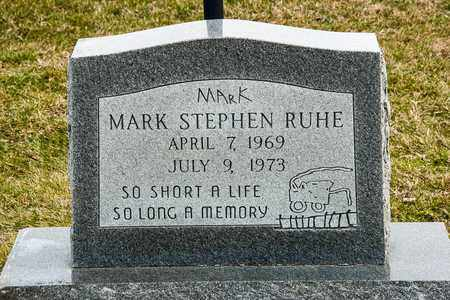 RUHE, MARK STEPHEN - Richland County, Ohio | MARK STEPHEN RUHE - Ohio Gravestone Photos