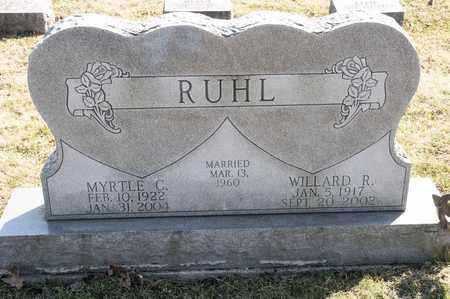 RUHL, MYRTLE C - Richland County, Ohio | MYRTLE C RUHL - Ohio Gravestone Photos