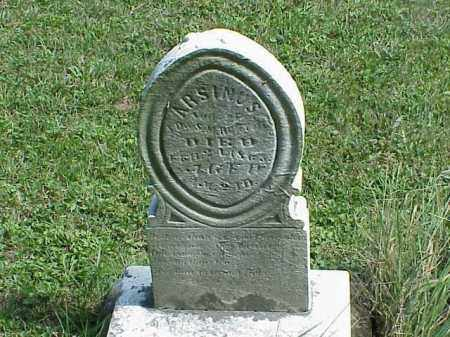 RUNYON, ARSINUS - Richland County, Ohio | ARSINUS RUNYON - Ohio Gravestone Photos