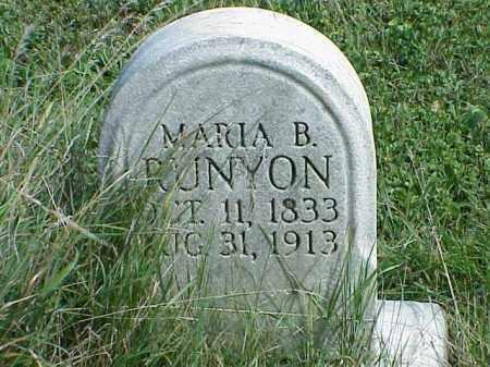 RUNYON, MARIA B. - Richland County, Ohio   MARIA B. RUNYON - Ohio Gravestone Photos