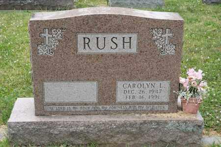 RUSH, CAROLYN L - Richland County, Ohio | CAROLYN L RUSH - Ohio Gravestone Photos