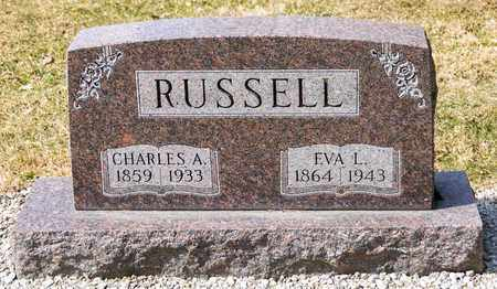 RUSSELL, CHARLES A - Richland County, Ohio | CHARLES A RUSSELL - Ohio Gravestone Photos