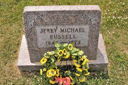 RUSSELL, JERRY MICHAEL - Richland County, Ohio | JERRY MICHAEL RUSSELL - Ohio Gravestone Photos