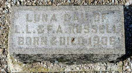 RUSSELL, LONA - Richland County, Ohio | LONA RUSSELL - Ohio Gravestone Photos