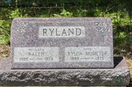 MOMEYER RYLAND, RYLDA - Richland County, Ohio | RYLDA MOMEYER RYLAND - Ohio Gravestone Photos