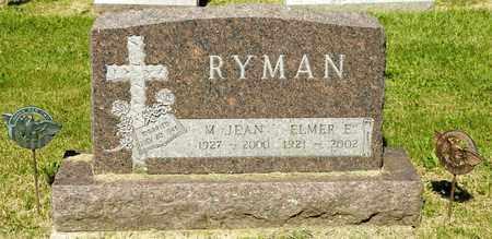 RYMAN, ELMER E - Richland County, Ohio   ELMER E RYMAN - Ohio Gravestone Photos