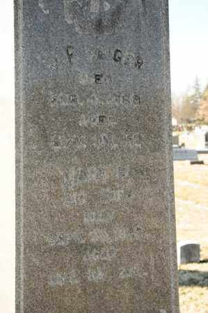 SAIGER, J F - Richland County, Ohio   J F SAIGER - Ohio Gravestone Photos