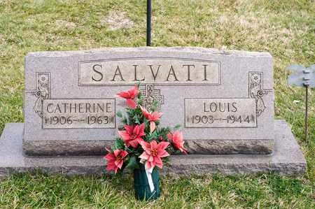 SALVATI, CATHERINE - Richland County, Ohio | CATHERINE SALVATI - Ohio Gravestone Photos