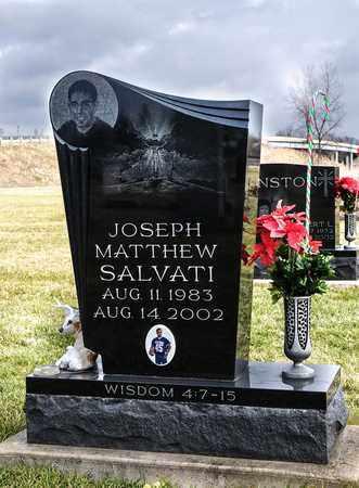 SALVATI, JOSEPH MATTHEW - Richland County, Ohio   JOSEPH MATTHEW SALVATI - Ohio Gravestone Photos
