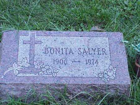 SALYER, BONITA - Richland County, Ohio | BONITA SALYER - Ohio Gravestone Photos