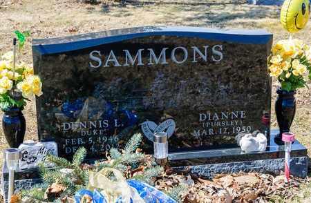 SAMMONS, DENNIS L - Richland County, Ohio | DENNIS L SAMMONS - Ohio Gravestone Photos