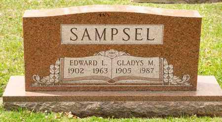 SAMPSEL, EDWARD L - Richland County, Ohio | EDWARD L SAMPSEL - Ohio Gravestone Photos