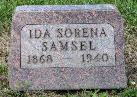 SAMSEL, IDA SORENA - Richland County, Ohio   IDA SORENA SAMSEL - Ohio Gravestone Photos