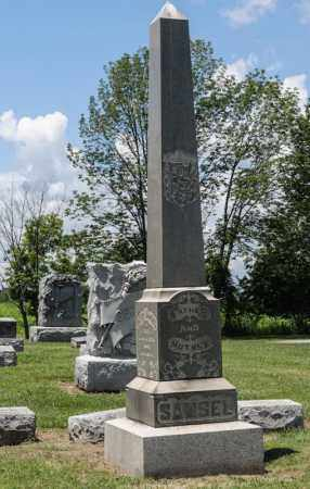 SAMSEL, ELIZABETH - Richland County, Ohio   ELIZABETH SAMSEL - Ohio Gravestone Photos