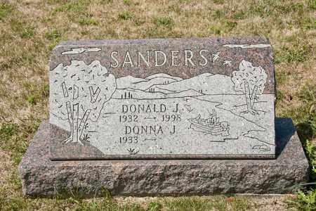 SANDERS, DONALD J - Richland County, Ohio | DONALD J SANDERS - Ohio Gravestone Photos
