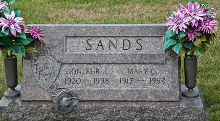 SANDS, DONLEHR J - Richland County, Ohio | DONLEHR J SANDS - Ohio Gravestone Photos