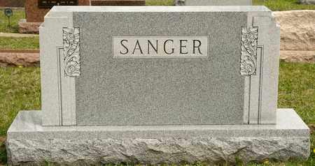 SANGER, EDWARD W - Richland County, Ohio   EDWARD W SANGER - Ohio Gravestone Photos