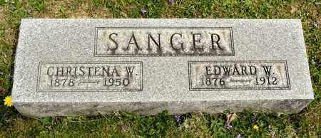 SANGER, EDWARD W - Richland County, Ohio | EDWARD W SANGER - Ohio Gravestone Photos