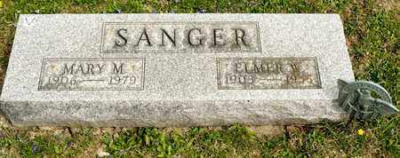 SANGER, MARY M - Richland County, Ohio | MARY M SANGER - Ohio Gravestone Photos