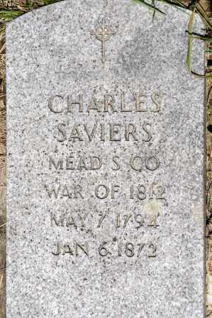 SAVIERS, CHARLES - Richland County, Ohio | CHARLES SAVIERS - Ohio Gravestone Photos