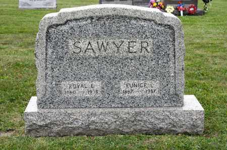 SAWYER, EUNICE L - Richland County, Ohio | EUNICE L SAWYER - Ohio Gravestone Photos