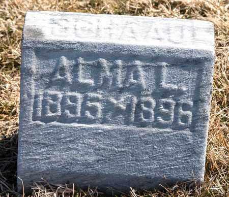 SCHAAD, ALMA L - Richland County, Ohio   ALMA L SCHAAD - Ohio Gravestone Photos