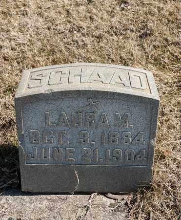 SCHAAD, LAURA M - Richland County, Ohio | LAURA M SCHAAD - Ohio Gravestone Photos