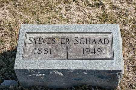SCHAAD, SYLVESTER - Richland County, Ohio | SYLVESTER SCHAAD - Ohio Gravestone Photos