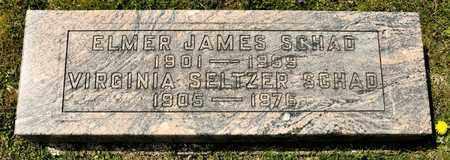 SELTZER SCHAD, VIRGINIA - Richland County, Ohio | VIRGINIA SELTZER SCHAD - Ohio Gravestone Photos