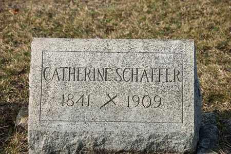 SCHAFFER, CATHERINE - Richland County, Ohio | CATHERINE SCHAFFER - Ohio Gravestone Photos
