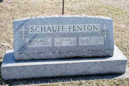 SCHAUFF, MARGARET - Richland County, Ohio | MARGARET SCHAUFF - Ohio Gravestone Photos