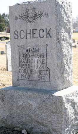 SCHECK, ADAM - Richland County, Ohio | ADAM SCHECK - Ohio Gravestone Photos