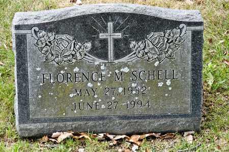 SCHELL, FLORENCE M - Richland County, Ohio   FLORENCE M SCHELL - Ohio Gravestone Photos