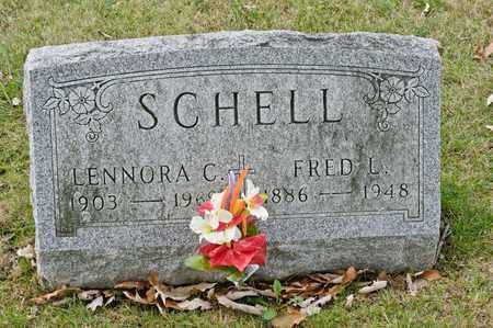 SCHELL, FRED L - Richland County, Ohio | FRED L SCHELL - Ohio Gravestone Photos